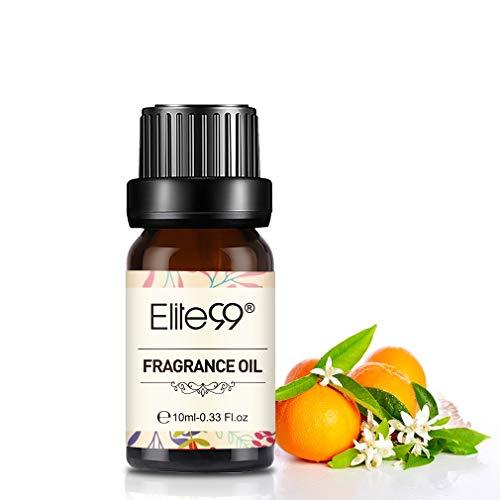 Elite99 Olio Fragranza di Fiore d'arancio Olio di Profumo 100% Puro Naturale Aromaterapia 10Ml - Orange Blossom