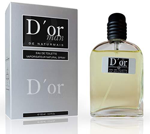 D'Or Man Eau De Toilette Intense 100 ml, Compatibile con Eau De Parfum Diore Homme, Profumo Equivalente Uomo