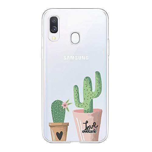 Cover per Samsung Galaxy A20e, motivo: Cactus Love