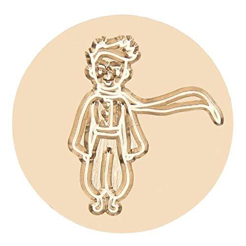 Sigillo di cera di legno testa di sostituire testa di rame vintage fai da te kit di foratura per feste di nozze inviti presente-0002, Australia