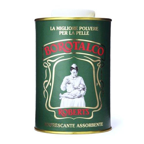 ROBERTS BOROTALCO Polvere Talco Fine Naturale Talc Thin Powder Can Vintage Latta 500gr