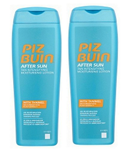 Piz Buin Tan Intensifier Lozione doposun, 200 ml x 2 = 400 ml