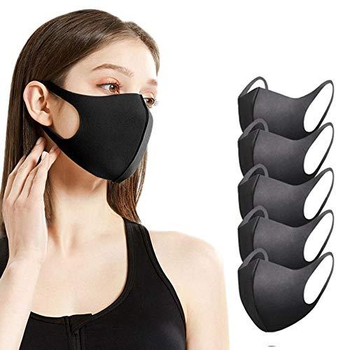 Sb Components - Maschera anti-polvere per viso e bocca, riutilizzabile, lavabile, unisex, anti-inquinamento (5)