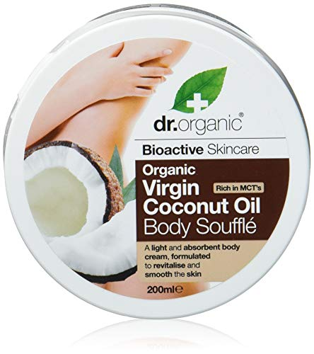 Dr Organic Coconut Oil Body Soufflè - Burro Corpo 200 ml