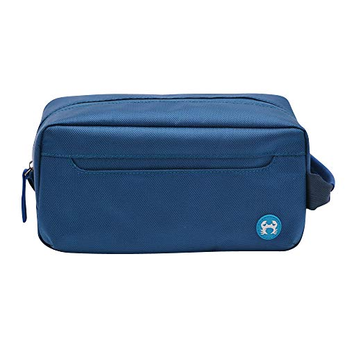 BagSy Crab Your Bag - Borsa da toilette di alta qualità   Accesori da viaggio   Beauty Travel Case   Borsa da viaggio ultraleggera, impermeabile e spaziosa per uomini e donne   (blu)