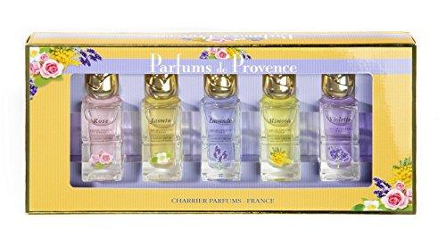 Charrier Parfums De Provence - Cofanetto Di 5 Eau De Toilette In Miniatura 54 Ml