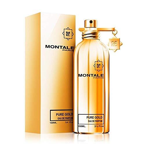 Montale Pure Gold 100ml/3.33oz Eau De Parfum Spray Perfume Fragrance for Women