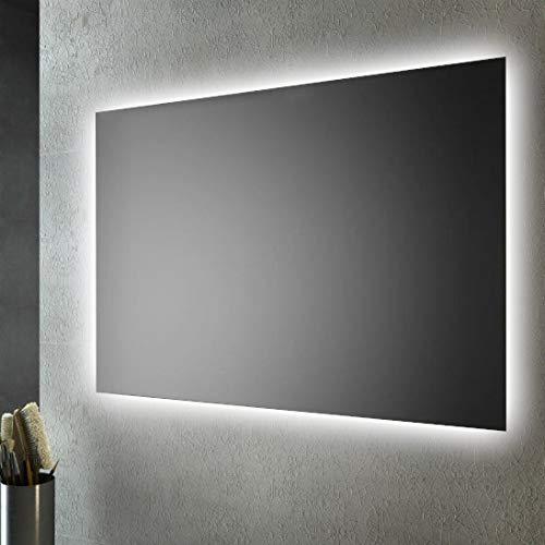 San Marco Specchio Bagno retroilluminato LED sul perimetro 100x70 cm