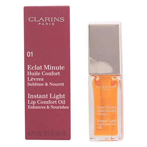 Clarins Eclat Minute Huile Confort Lèvres 04 Candy Pink, New 2017-7 ml