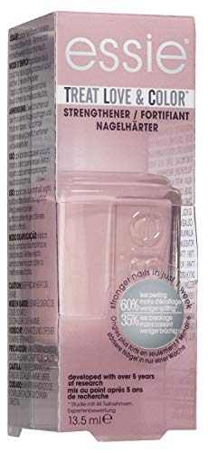 Essie Smalto Semipermanente Rinforzante Treat, Love & Color, Trattamento Cura e Colore, Nude Mood, 13,5 ml