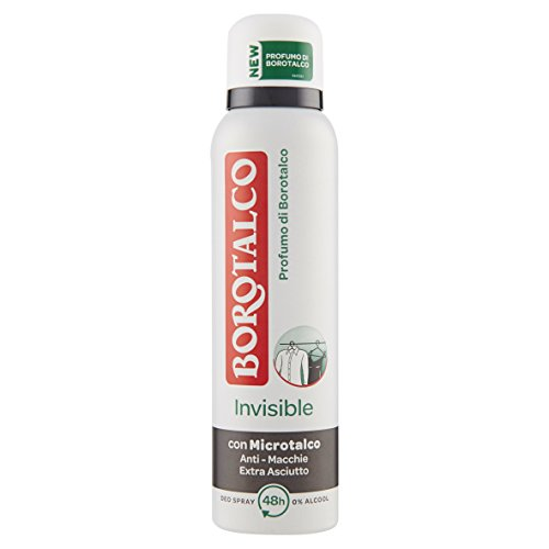 Borotalco Deodorante Invisible Original Spray 150ml. Profumo di Borotalco - 12 confezioni