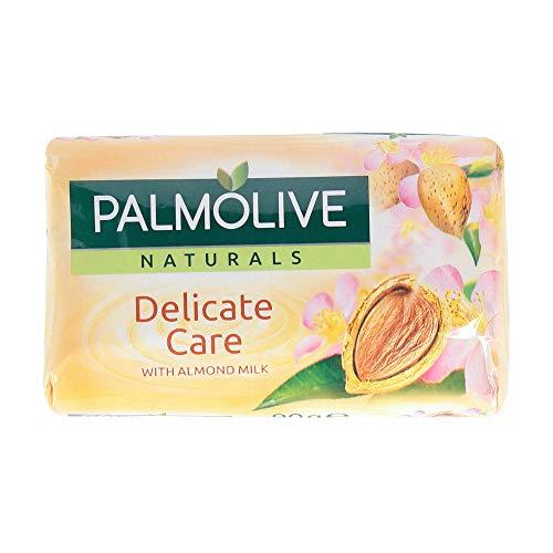 Palmolive Natuals Saponetta, Delicate Care Con Latte Di Mandorla, 90 G