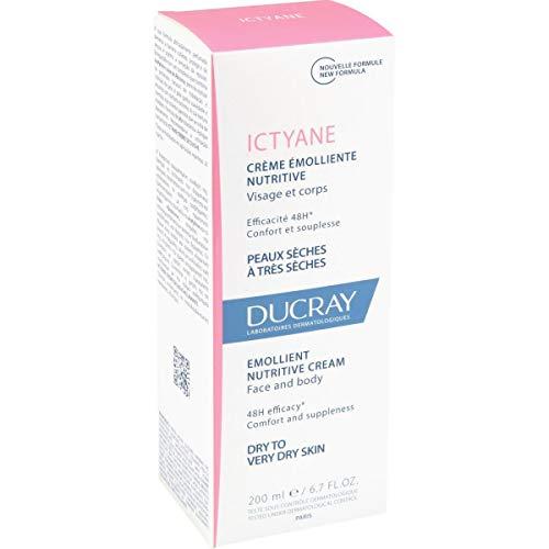Pierre Fabre Ducray Prf4285 Ictyane Crema Emolliente Nutritiva - 200 ml