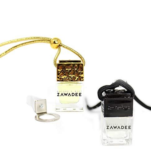 Zawadee - 2 deodoranti per auto, ispirati ai profumi del designer like Creed & Black Orchid + clip per sfiato