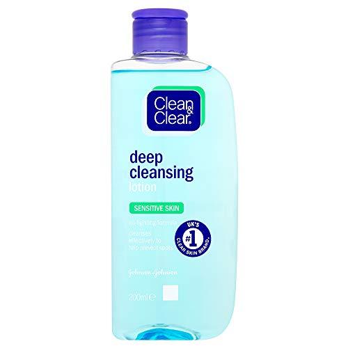 Clean & Clear Sensitive Skin Deep Cleansing Lotion 200ml