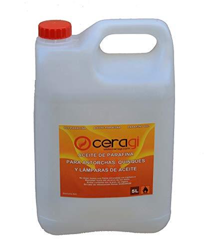 CERAGI Olio di paraffina, tanica da 5 litri