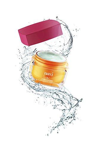 NAVI Revitalizing Hydro-Night Cream | Crema Viso Notte Illuminante con Vitamina E & Acido Ialuronico | Maschera Ultra-Idratante Anti-Rughe & Anti-Macchie, Effetto Lifting Immediato - 50 ml