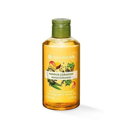 Yves Rocher – bagno doccia Mango-coriandolo – Godetevi il piacere tonificante della doccia