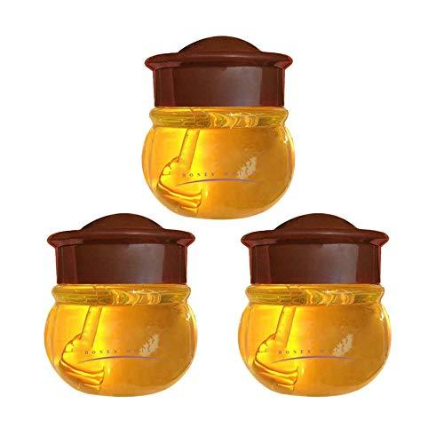 Maschera Per Le Labbra Al Propoli, Balsamo Per Le Labbra Idratante Al Miele Cura Delle Labbra Nutriente Durante Il Giorno, Ripara Le Labbra Secche, Screpolate, Desquamate E Screpolate (3 Pz)