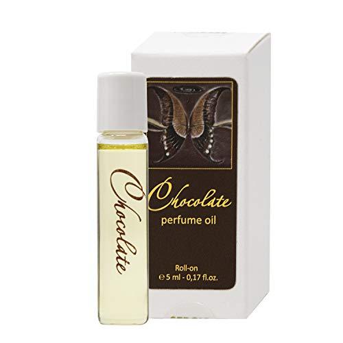 Chocolate L'olio del profumo per le Donne 5 ml La Miniatura Roll-on, L'aroma dolce gourmet per lei di SERGIO NERO – La Profumeria è come il TRUCCO