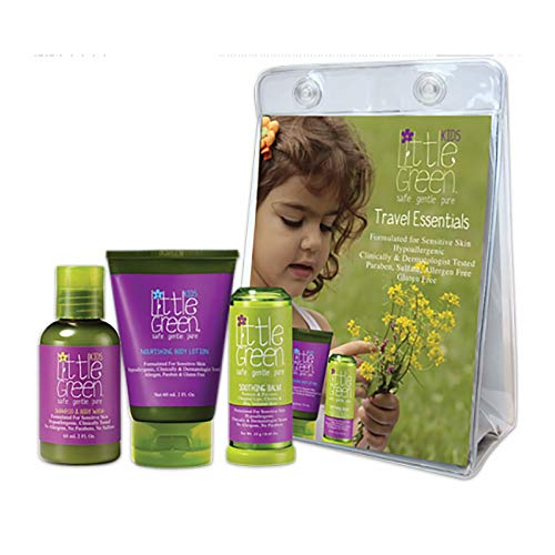 Little Green Travel Essentials Kids- Kit Viaggio Bimbi - 264 Gr