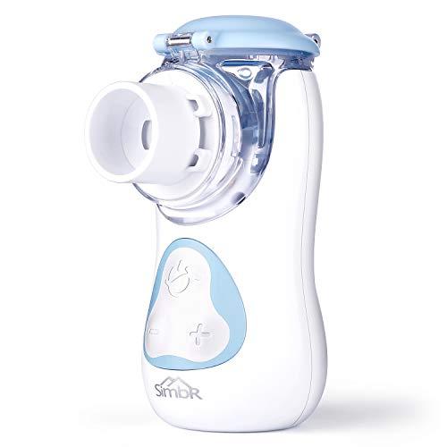 SIMBR Aerosol Ultrasuoni Silenzioso, Aerosol Portatile per i Bambini e Adulti, Ricaricabile con Cavo USB