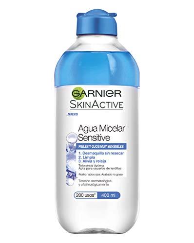 Garnier Skinactive Acqua Micelar Sensitve - 6 confezioni da 400 Ml