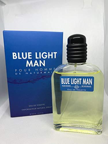 Profumo Uomo Blue Light Man Compatibile con Light Blue Uomo   Eau de Toilette Intense 100 ml