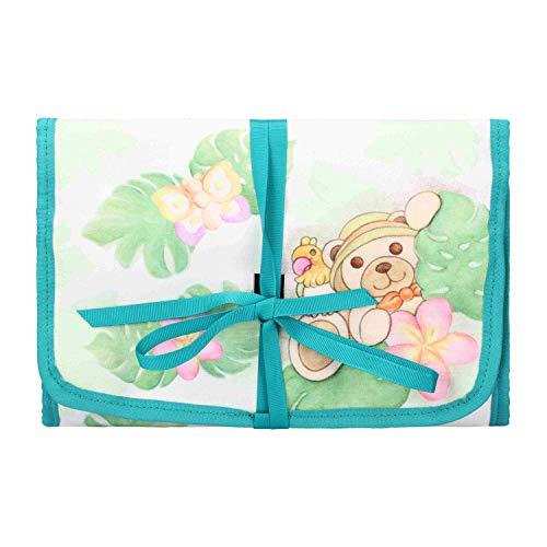 THUN ® - Beauty Case da Viaggio - Linea Tropical - 25 x 17,5 x 3,5 cm