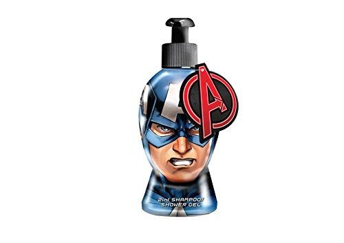Marvel Avengers Captain America 2 in 1 Gel Doccia e Shampoo - 300 ml