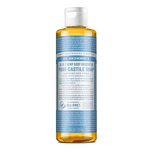 Dr. Bronner - sapone di Castiglia all'aloe con ingredienti bio, 236ml