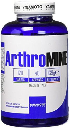 Yamamoto Nutrition ArthroMINE® integratore alimentare per le articolazioni che apporta glucosamina 120 compresse