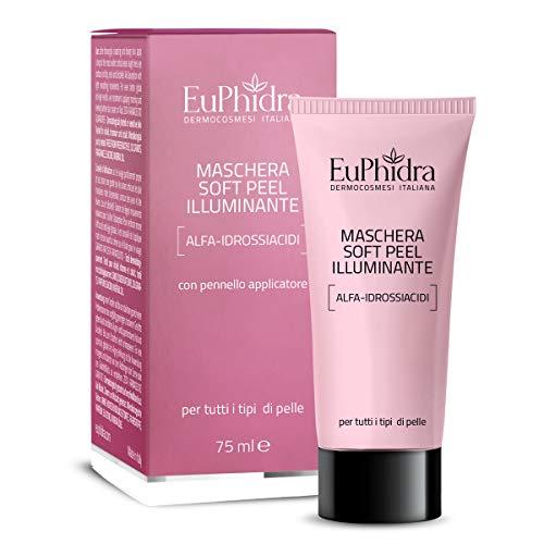 Euphidra Maschera Soft Peel Illuminante, Pelli Opache E Stressate - 75 Ml. - 0.13 Gr