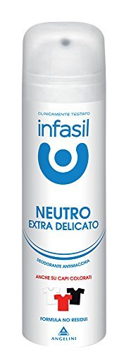 6 x INFASIL Deo Persona Spray Extra Delicato Antimacchia 150 Ml