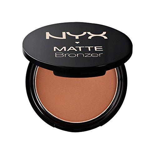 NYX Professional Makeup Matte Body Bronzer, Polvere compatta, Shimmer Free, Light