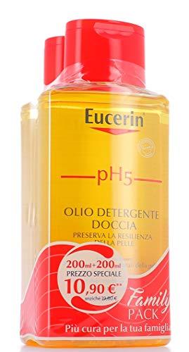Eucerin EUC0200124/3 Ph5 Olio Doccia Confezione, Due Flaconi - 200 ml