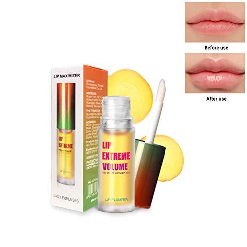 Lucidalabbra Plumper- Labbra sexy senza iniezioni di filler per labbra - Lucidalabbra rimpolpante per labbra organiche per labbra più piene e idratate, Lip Enhancer naturale, Idrata