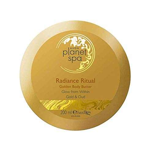 Avon Planet Spa Radiance Ritual Golden Body Butter Gold and Oud 200ml
