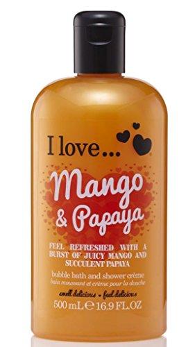 I Love. Mango & Papaya Bubble Bath And Shower Creme 500ml