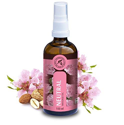 Olio per Massaggio 100ml - Olio di Jojoba - Mandorle e Oli Essenziali Naturali - Cosmetici Naturali - Splendido Odore - Oli per la Pelle - Corpo - Massaggi - Benessere