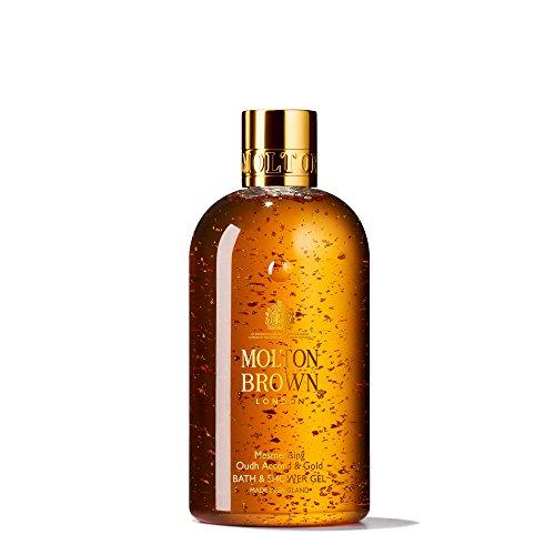 Molton Brown Women's Oudh Accord & Gold Bath & Shower Gel 300Ml