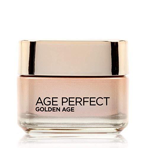 L'Oréal Paris Crema Viso Giorno Age Perfect Golden Age, Trattamento Fortificante, Adatto a Pelli Mature, 50 ml