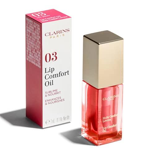 Clarins Olio Confort per Labbra, 03 Red Berry, 7 ml