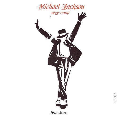 AVASTORE - Tatuaggio temporaneo da donna, unisex, per adulti, motivo: Michael Jackson