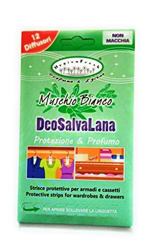 HygienFresh Deo SALVALANA Profumo per CASSETTI E ARMADI Deodorante