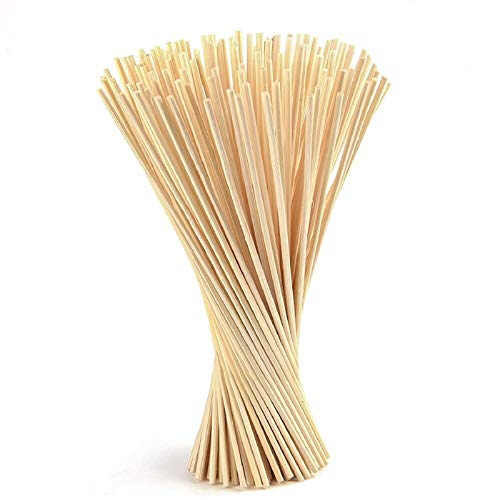 Coriver 150 Pezzi Bastoncini di diffusore a Lamella, Sostituzione di Bastoncini di diffusore di fragranza di Olio Essenziale per Profumo di Aroma -24 cm * 3 mm