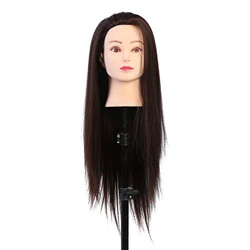 Testa da allenamento, Trucco Testa da manichino Parrucchiere Testa da allenamento Cosmetologia Testa di bambola Bionda Testa di Moro
