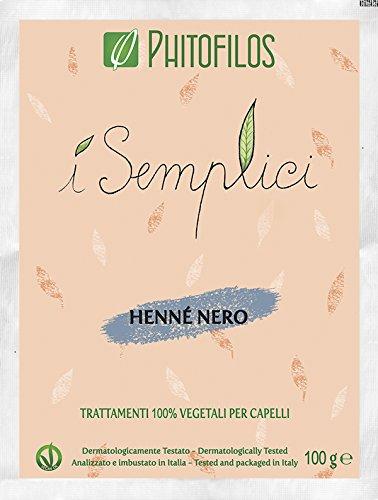 Phitofilos HENNE' NERO I Semplici 100gr Iflesso scuro 100% Vegetale