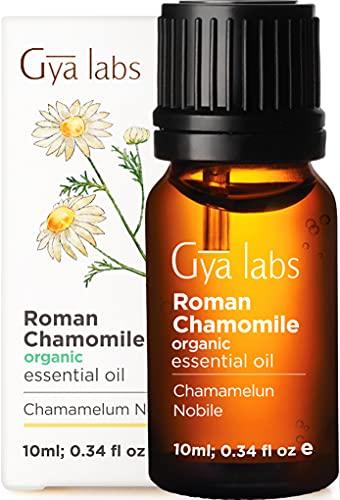 Olio essenziale di camomilla romana biologica per capelli, pelle, diffusore e aromaterapia (10 ml) - Grado terapeutico puro al 100%