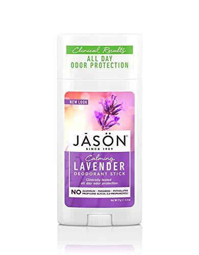 Jason Natural Care - Deodorante per albero del tè alla lavanda e al tè biologico
